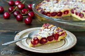 cuisine cherry cherry clafoutis home cooking adventure