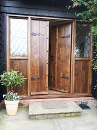 Solid Timber Front Door by Oak External Doors And Solid Oak Front Doors In Suffolk