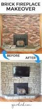 how to install stone veneer over brick fireplace blogbyemy com