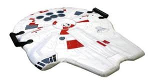 coolest sled ever star wars millenium falcon sled craziest gadgets