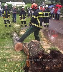 Feuerwehr Bad Kreuznach Bad Kreuznach Freiwillige Feuerwehr 25 08 17 Umgestürzter Baum