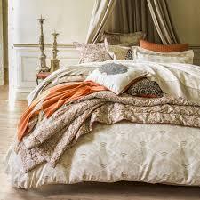 drap en satin de coton linge de lit luxe chic