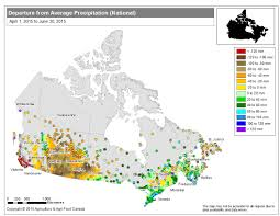 Saskatoon Canada Map by 2015 Annual Review Of Agroclimate Conditions Across Canada