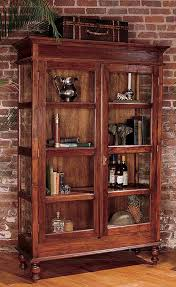 Curio Cabinet With Glass Doors Curio Cabinet Want Something Like This For Our Pottery Because