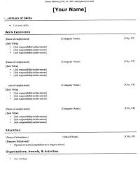 Example Basic Resume by Basic Resume Structure Resume Examples Basic Resume Examples Basic