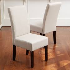 linen dining chair christopher home t stitch linen dining chairs set