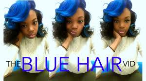 can i dye marley hair natural hair dying my hair blue youtube