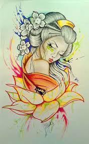 geisha oriental pinterest geisha tattoo and tatoo
