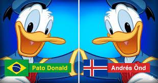 names donald duck u0027m