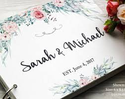 wedding sign in book ideas guest book ideas etsy