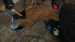 bamboo flooring removal