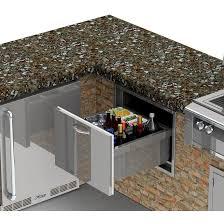 kitchen top outdoor kitchen beverage center home decoration