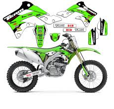 2003 2006 kawasaki kdx 50 kdx50 graphics kit decals stickers pit
