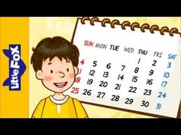 what day is it today learn for song by fox