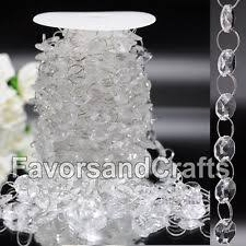 Acrylic Chandelier Beads by Acrylic Crystals Venue Decorations Ebay