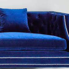 blue velvet sofa sectional navy bed 4954 gallery rosiesultan com