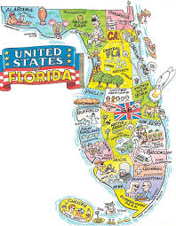 florida map hilarious maps showing what florida is really like