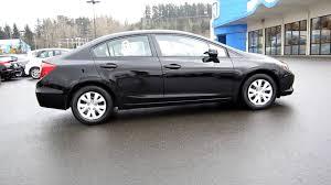 2012 black honda civic 2012 honda civic lx sedan black stock b1987 walk around