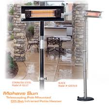 Fire Sense Halogen Patio Heater by Electric Patio Heaters Infrared Portable U0026 Wall Mount Outdoor Units