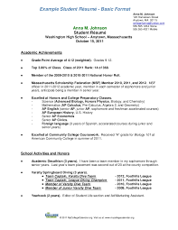 Scholarship Resume Example by Resume For Scholarship Template Examples