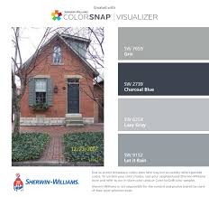 Blue Gray House Color by Blue Gray House With Shutters Little Dark Here Sorry But You