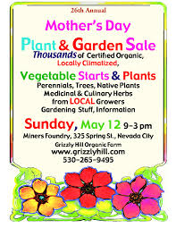 mothers day plants s day plant sale sunday may 12 2013 9 00 a m 3 00