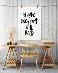 Office Wall Decorating Ideas by Humorous Print