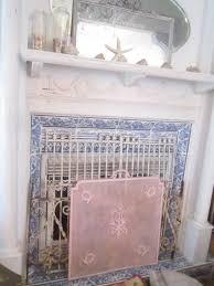 vintage fireplace screen binhminh decoration