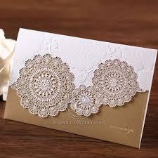 Tri Fold Invitations Lace Inspired Elegance Rustic Country Wedding Invitation