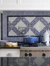 blue kitchen tiles ideas kitchen backsplash blue glass tile blue ceramic tile subway