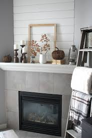 shiplap fireplace wall project u2013 the porch light cottage