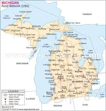 area code map of michigan michigan area code map