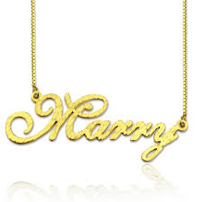 plated name necklace personalized cnc unique name necklace for women best gift