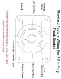 trailer wiring diagram 7 pin round to t trailer wire diagram cut