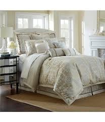 Faux Fur Comforter Waterford Olivette Medallion Jacquard Comforter Set Dillards