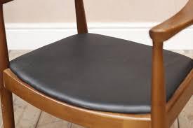 vintage retro mid century danish style elbow arm chair desk chair