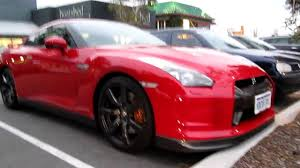 nissan red red nissan gtr r35 youtube