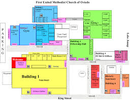 Oviedo Florida Map by Church Campus Map