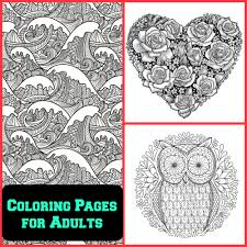 7 free coloring pages for adults mama bees freebies