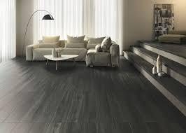 Anthracite Laminate Flooring Indoor Tile Floor Porcelain Stoneware Matte Steam Wood