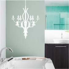 Chandelier Wall Decal Crystal Chandelier Decals Stickers High Style Wall Decals Wall