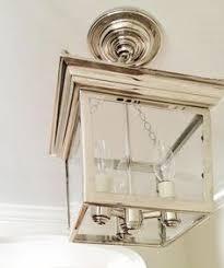 semi flush mount foyer light savoy house garrett polished nickel four light flush mount