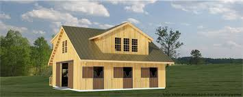 Barn Building Plans Build A Barn The Westwood 4 Stall Horse Barn Plans For Barns