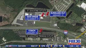Orlando Premium Outlets Map by Merchandise Worth More Than 20 000 Stolen From 3 St Augustine