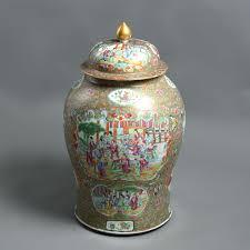 canton porcelain a large 19th century qing dynasty famille canton porcelain vase