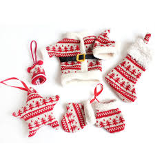 knitting christmas tree christmas lights decoration