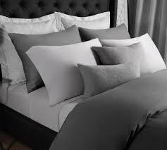 best modal bed sheet solid modal jersey sheet set in ash gray