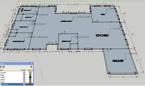 How To Create Floor Plan In Sketchup Download Google Sketchup House Plans Zijiapin