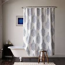 Bathtub Curtains Smart Tips Of Using Cloth Shower Curtains Homesfeed
