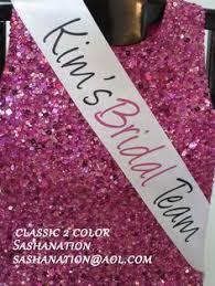 personalized sashes sashanation personalized sashes for brides bachelorette party